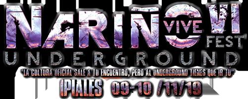 Nariño Vive Underground Logo